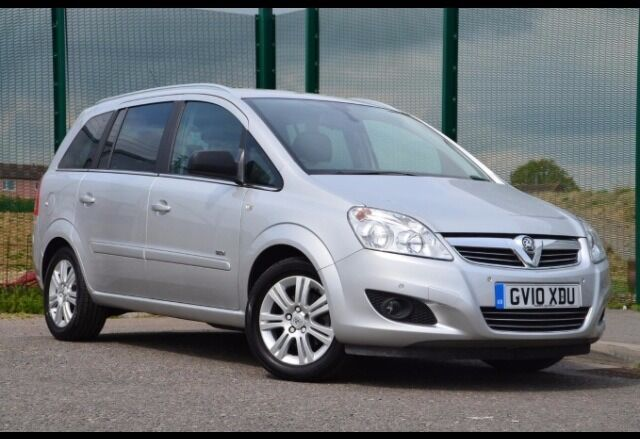 2010 vauxhall zafira design silver 1 6 very low mileage selling as emigrating bargain price. Black Bedroom Furniture Sets. Home Design Ideas