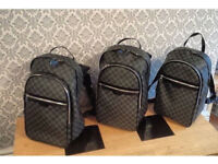 Louis Vuitton Damier Backpack leather