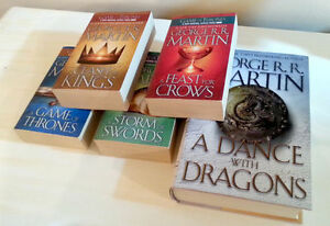 LIKE NEW A Song of Ice and Fire A Game of Thrones Books Kitchener / Waterloo Kitchener Area image 1