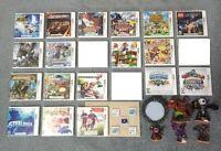 3DS Games _ Pokemon Y, Rumble Blast, Mario Kart 7, Mario Party