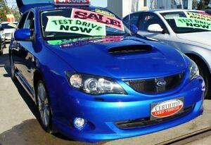 2008 Subaru Impreza WRX Blue Manual Hatchback Lansvale Liverpool Area Preview
