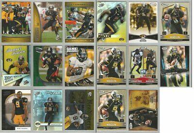 Jeremy Maclin Eagles Missouri 17 card 2009 Press Pass/Sage rookie lot-all diffnt
