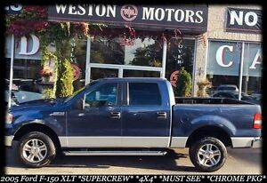 2005 Ford F-150 XLT*SUPERCREW*4X4*NO CREDIT CHECK FINANCING!