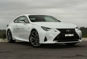 2019 Lexus RC ASC10R RC300 F Sport White Nova 8 Speed Sports Automatic Coupe Somersby Gosford Area Preview