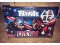 Marvel civil war risk game
