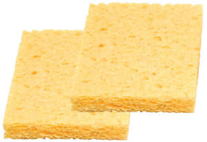 1-2-5-or-10-Universal-Solder-Iron-Cleaning-Soldering-Sponges-30-x-50-x-1mm