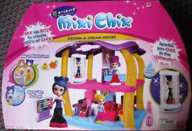 Mixi Chix - Design a Dream house, unused.