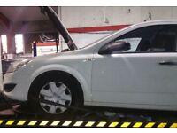 Vauxhall Astra Van N/S Wing In White (2011)