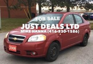 2008 Chevrolet Aveo LT--Certified, Financing availaiable LT