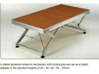Portable stage platforms indoor / outdoor, Great for consert, wedding, show, school, festival