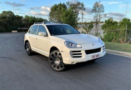 2009 Porsche Cayenne 9PA MY10 Diesel White 6 Speed Sports Automatic Wagon Darra Brisbane South West Preview