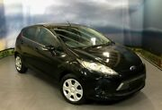 2012 Ford Fiesta WT CL Black/Grey 5 Speed Manual Hatchback Elizabeth Playford Area Preview