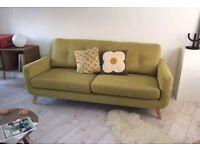 John Lewis Barbican sofa green