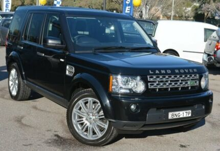 2010 Land Rover Discovery 4 Series 4 10MY TdV6 CommandShift HSE Black 6 Speed Sports Automatic Wagon Phillip Woden Valley Preview