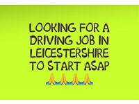 MALE LOOKING FOR DRIVING WORK ASAP