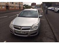 Vauxhall Astra 5 door 1.6 2007 68,110 Miles
