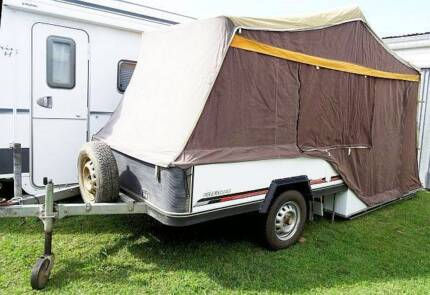 Campomatic hard floor camper trailer Mardi Wyong Area Preview