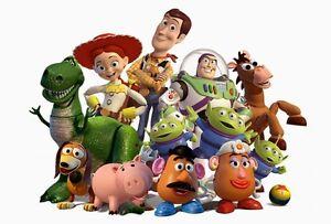 Toy Story, Histoire de jouets