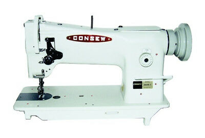 Photo Consew 206RB-5 Triple Feed, Upholstery Walking Foot Sewing Machine - Head Only