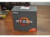 AMD RYZEN 7 1800X 8-Core 3.6 GHz (4.0 GHz Turbo) Processor - Brand New