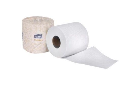 "Tork Premium 2 Ply Soft Roll Bath Tissue - 4.5"" x 3.8"", 96rls/cs"