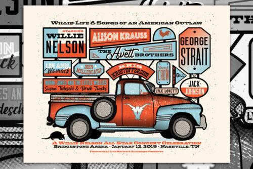 The Avett Brothers 1/12/2019 Nashville, TN Poster
