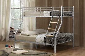 Brand New Triple Sleeper Bunk Bed for sale - FREE UK HOME DELIVERY