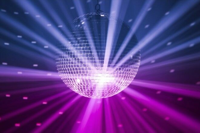 Glitter Ball Disco for hire
