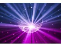 Glitter Ball Disco for hire
