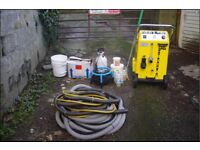 CARPET CLEANING EQUIPMENT - complete set up, great for start up business - fully working