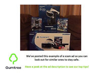 playstation virtue reality bundle -- Read the description before replying to the ad!!!
