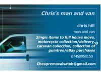 Chris's man and van