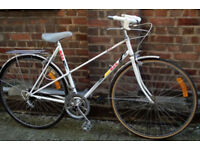 French vintage racing ladies bike MBK frame size 19in - 10 speed, serviced - Welcome for test ride