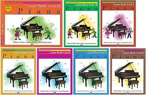 Alfred's Basic Piano Course (complete set 7 books - new)