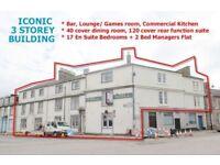 Hotel with Bar, Function Suite & Restaurant For Sale - 3 Storey Hotel / 17 En Suite Bedrooms