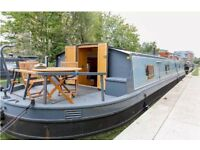 Canal Boat Floating Home (launched 2014)