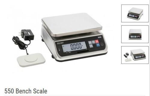 Doran PC550-12 Washdown Portion Control Scale,6kgX 1 g, NTEP,Class III,New