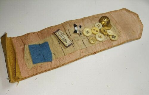 Spanish American War Span Am SAW House Wife Sewing kit w/ contents