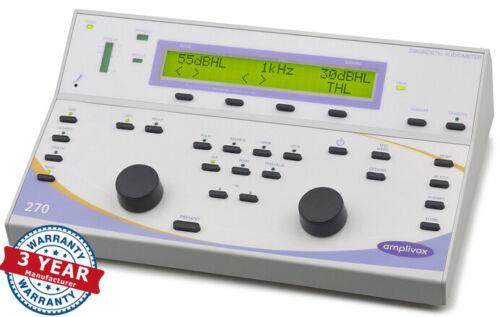 Amplivox 270 Diagnostic Audiometer  3-Year Warranty