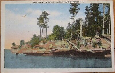 1954 Pc  Drill Point Apostle Islands  Lake Superior  Wi