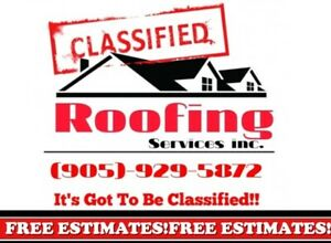 ****Classified Roofing Services! ***