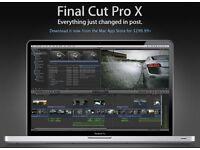 CINEMA 4D - FINAL CUT X - MAGIC BULLET - SONY VEGAS - LUMINON