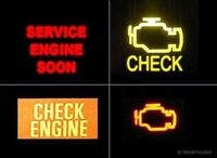 Engine light on? I can help for $30! Same day!