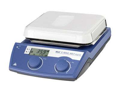Ika C-mag Hs 7 Digital Display Hotplate Stirrer Analog Ceramic 120v 3487001