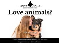 Love animals? Apply today!