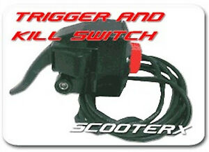 ScooterX-43cc-Gas-powered-Skateboard-Mountain-Board-Throttle-Trigger-KIll-Switch