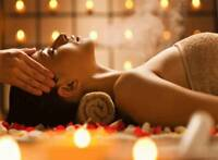 Massage for women by Professional Young Man