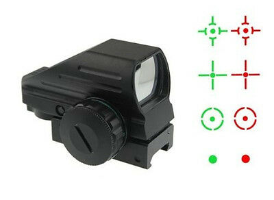 Original Optics Laser Scope 1x22x33 Multi Reticle Compact Red Green Dot Sight