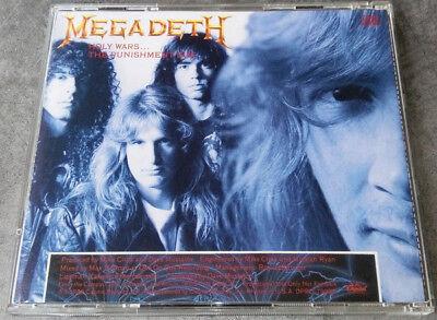 Megadeth, Holy Wars...The Punishment Due, NEW/MINT U.S. promo CD single