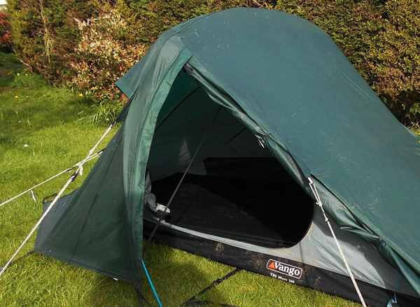 Vango Odyssey Micro 3 Quality one man lightweight tent & Vango Odyssey Micro 3 Quality one man lightweight tent | in ...